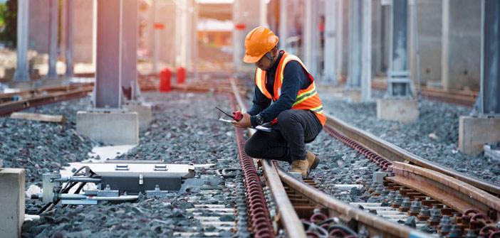 HSE werken aan spoor